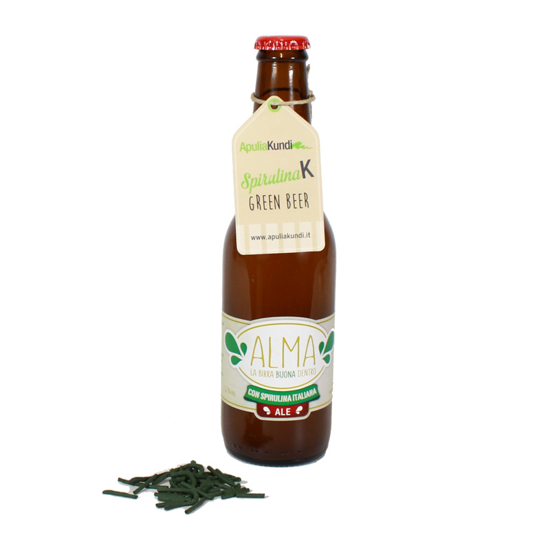GREEN BEER con SPIRULINAK BIO 33cl