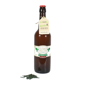 GREEN BEER con SPIRULINAK BIO 75cl