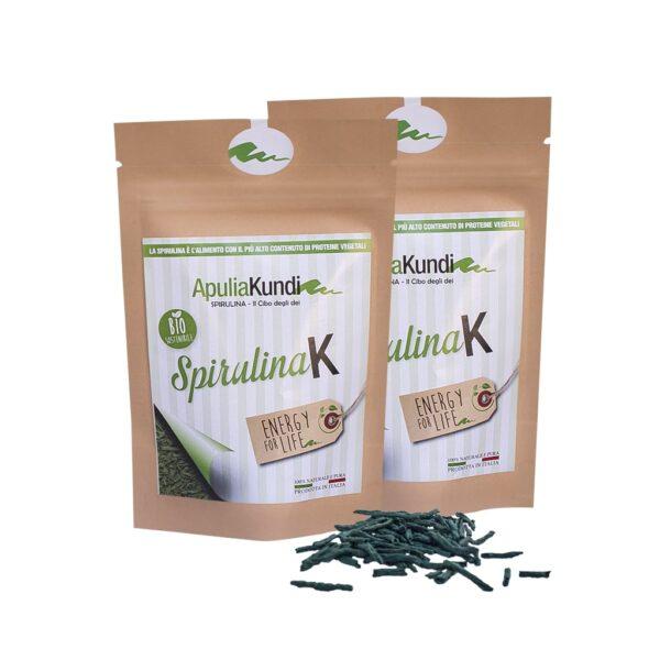 Sticks di Spirulina essiccata 50g